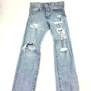 &Denim Men Tapered Leg Skinny Jeans Sz 28/32 P461